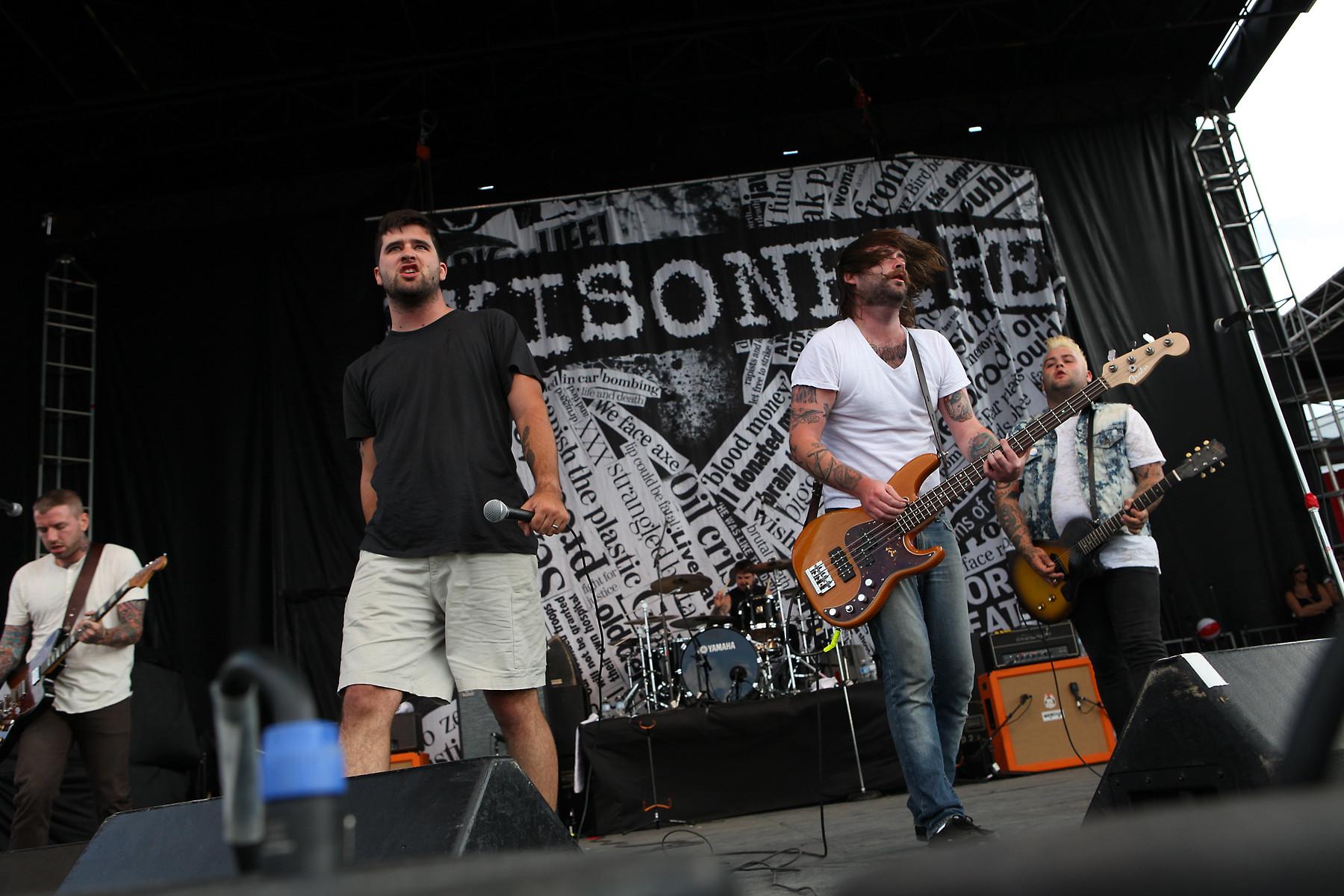 Alexisonfire @ Wakestock 2010
