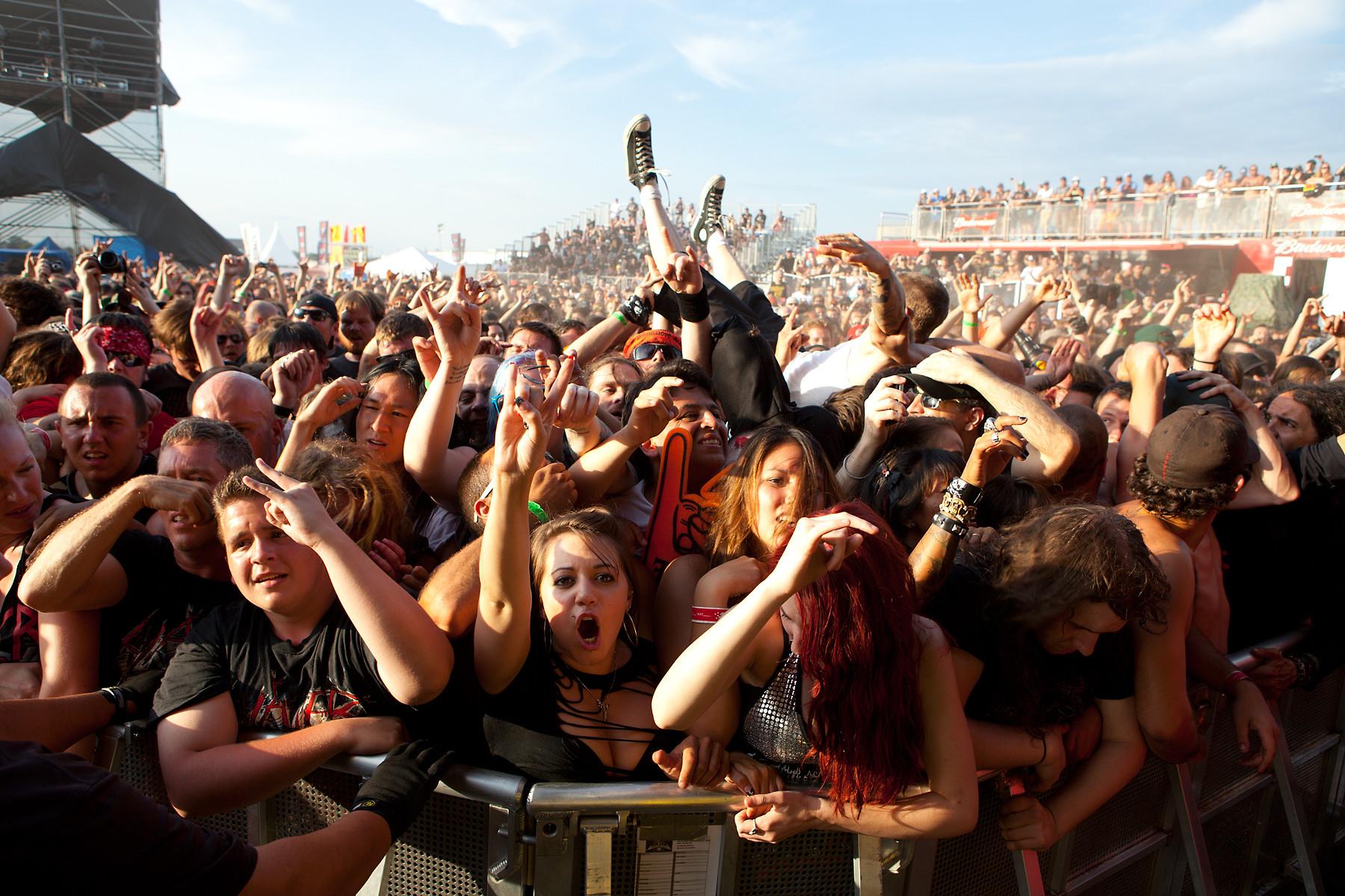 Slayer fans @ Heavy T.O. 2011