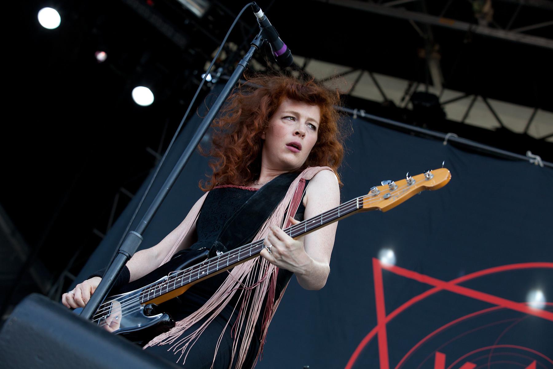 Melissa Auf der Maur @ Heavy T.O. 2011