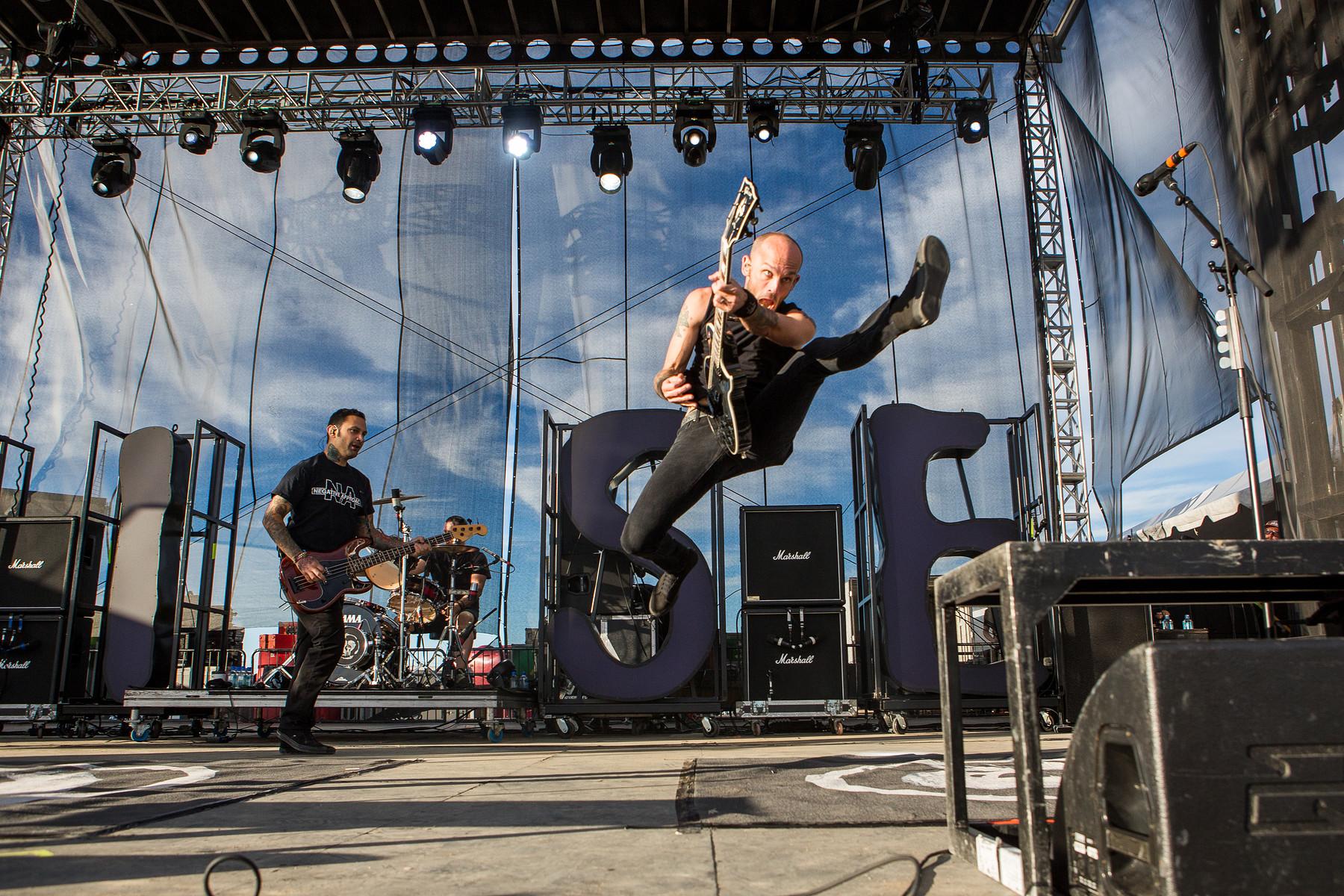 Rise Against // Riot Fest // Toronto // 2014