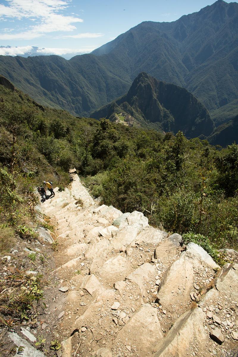 Machu Mountain Ascent // Peru