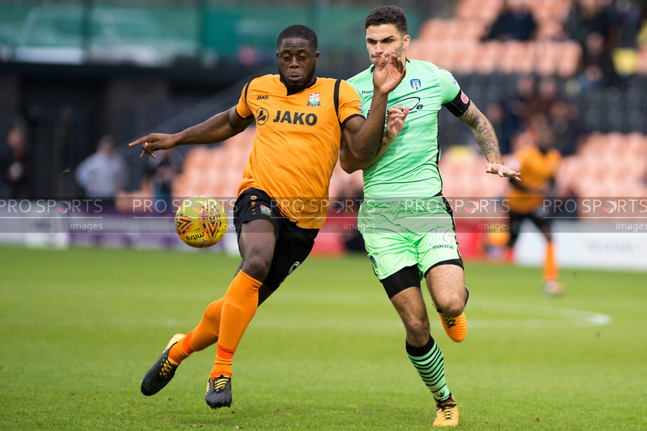 Barnet Vs Colchester United - 11 November 2017