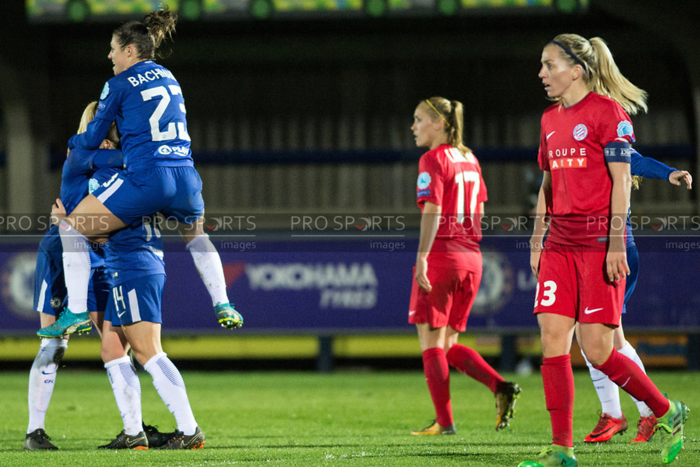 Chelsea Ladies Vs Montpellier