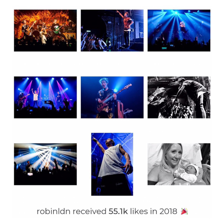 My Top Nine 2018 on Instagram