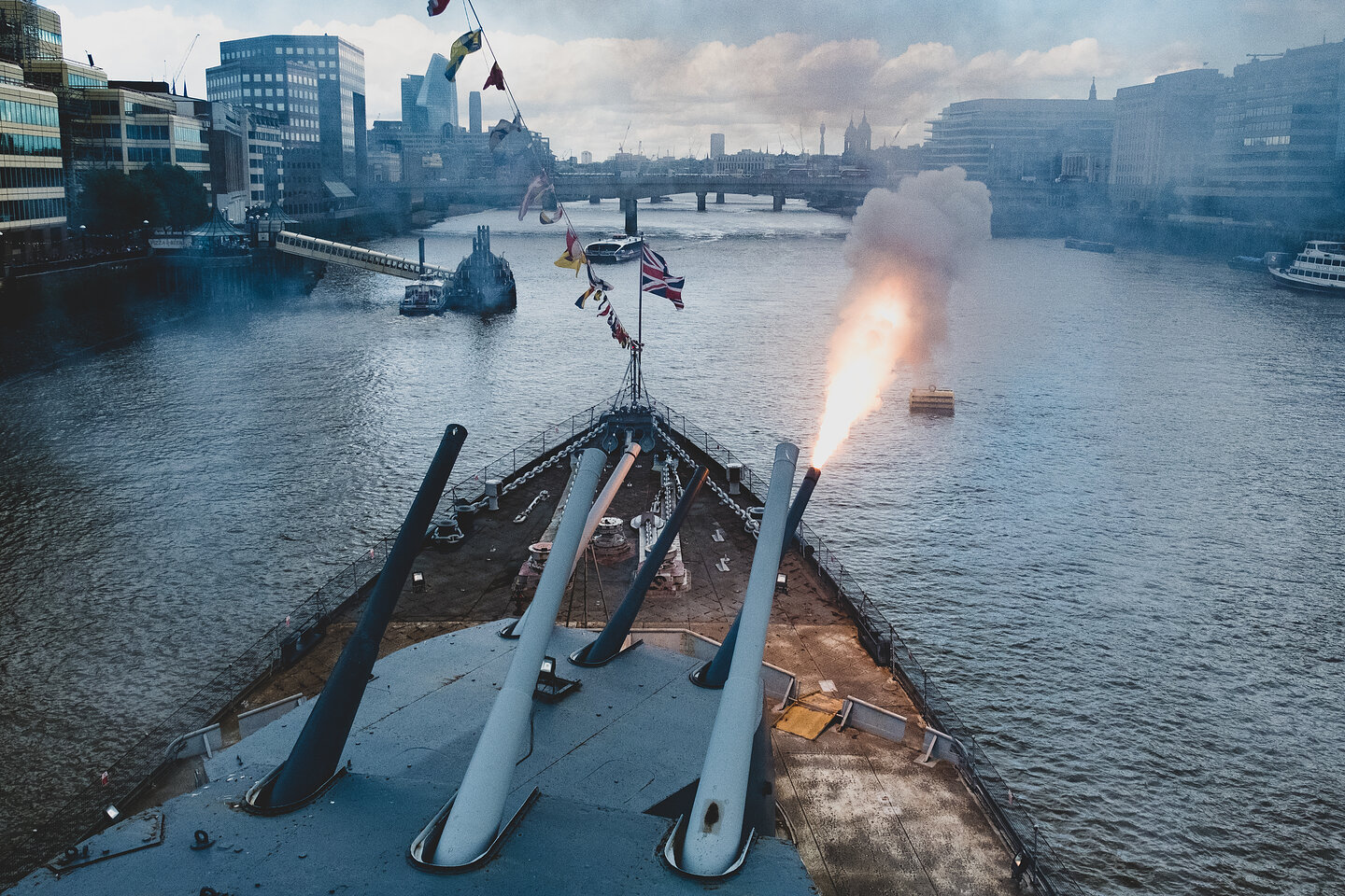 D Day 75th Anniversary - HMS Belfast