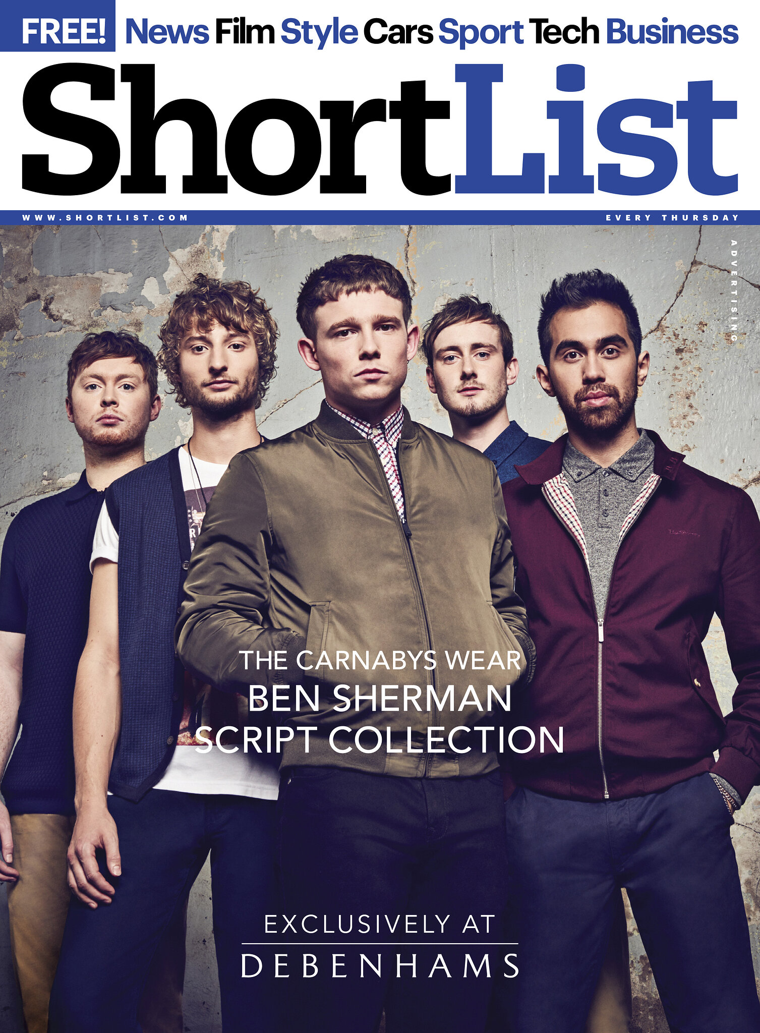 Shortlist_The Carnabys_ Ben Sherman_debenhams
