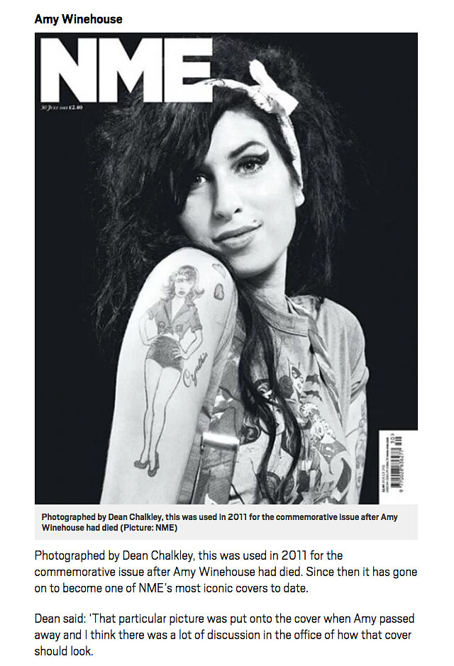 Amy Winehouse: Dean Chalkley