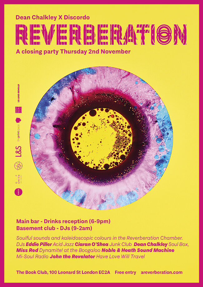 Reverberation: Closing Party 2nd Novemebr