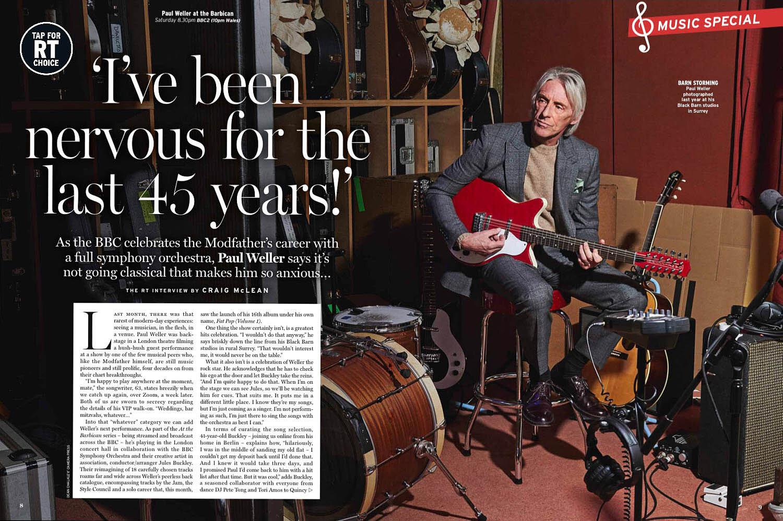 Paul Weller Dps Radio Times
