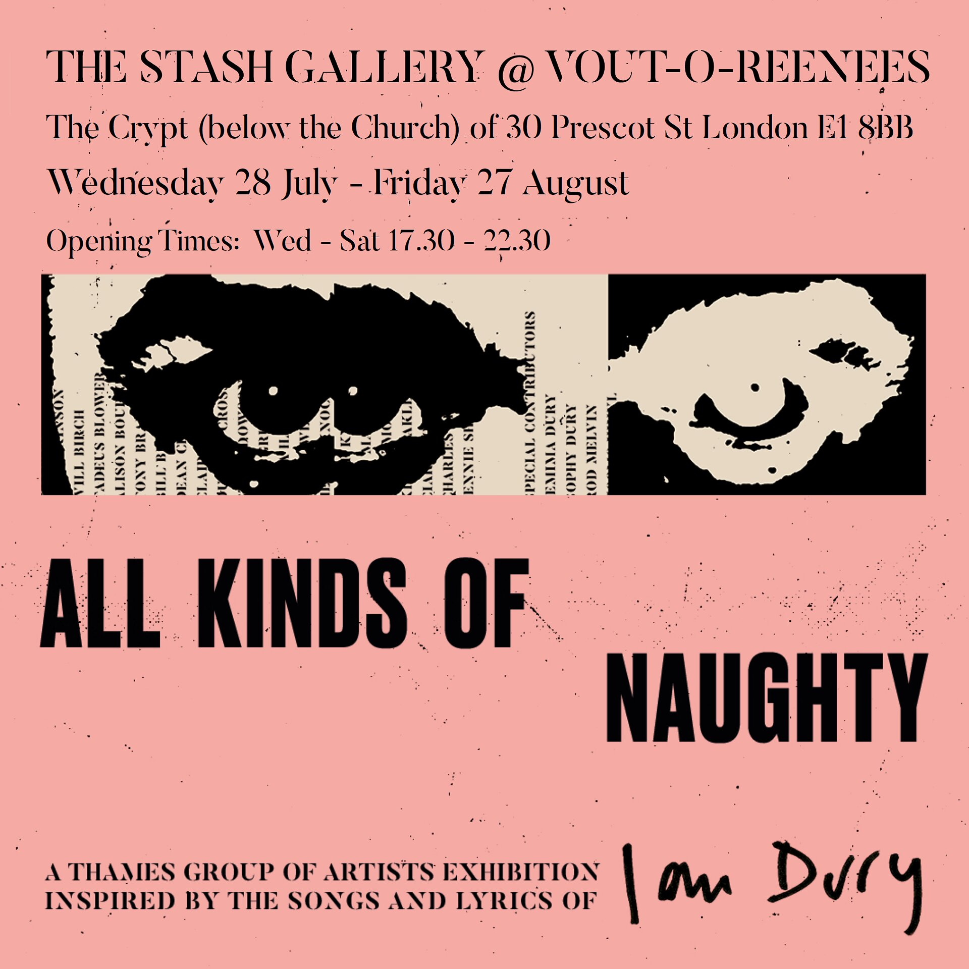 All Kinds Of Naughty: The Stash Gallery London