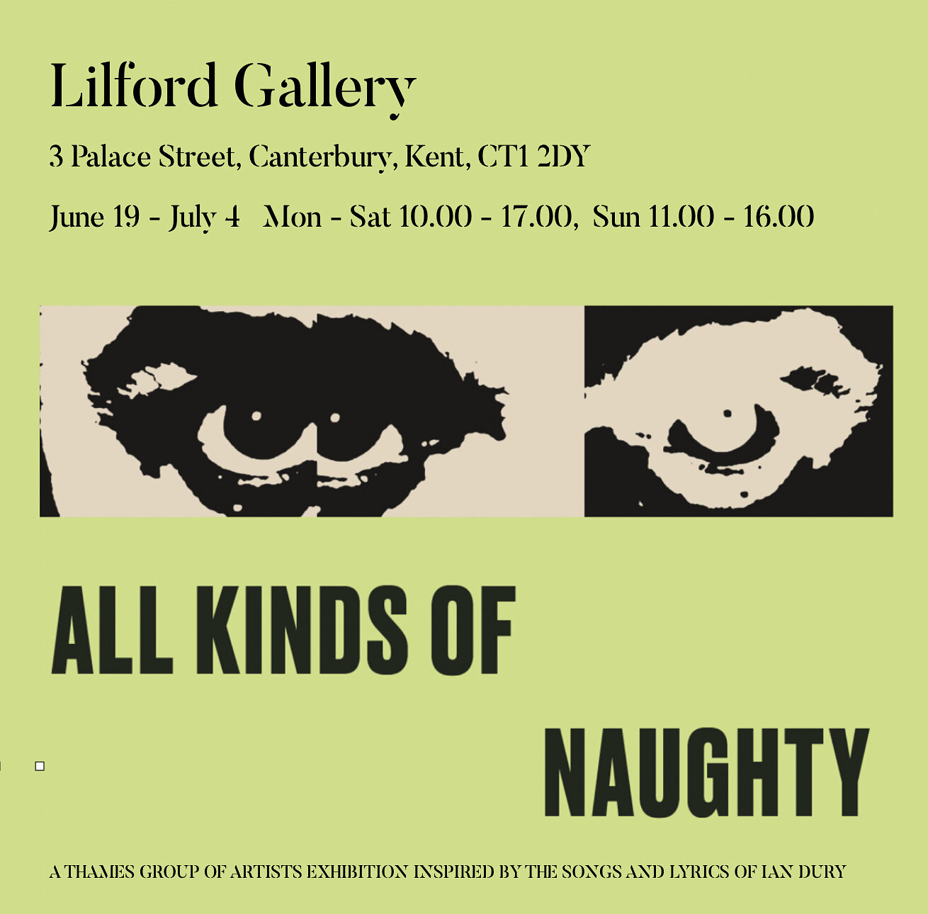 All Kinds Of Naughty Lilford Gallery Kent