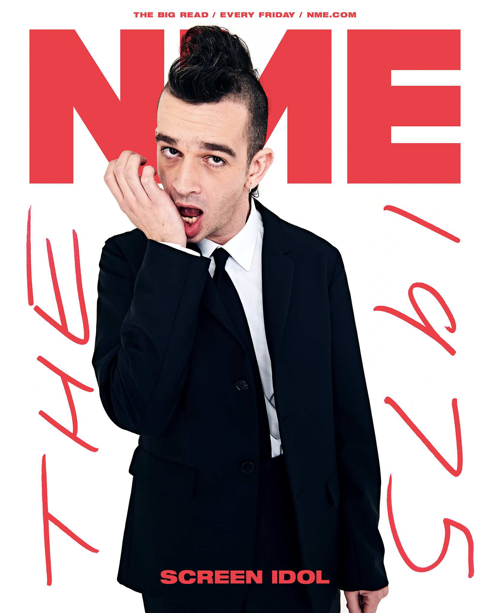 NME Magazine: Matty Healy : The 1975