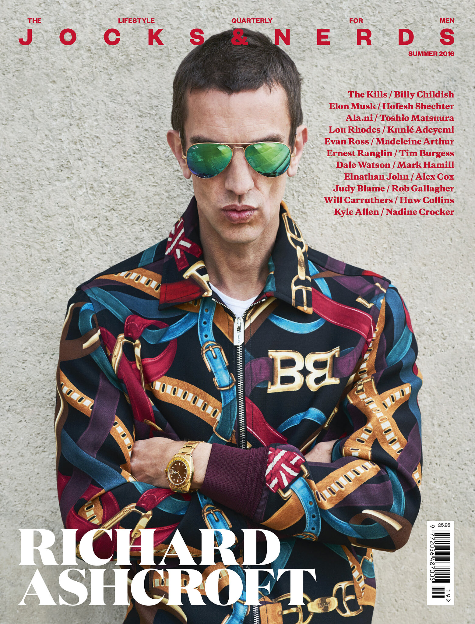 Jocks and Nerds: Issue 19: Richard Ashcroft