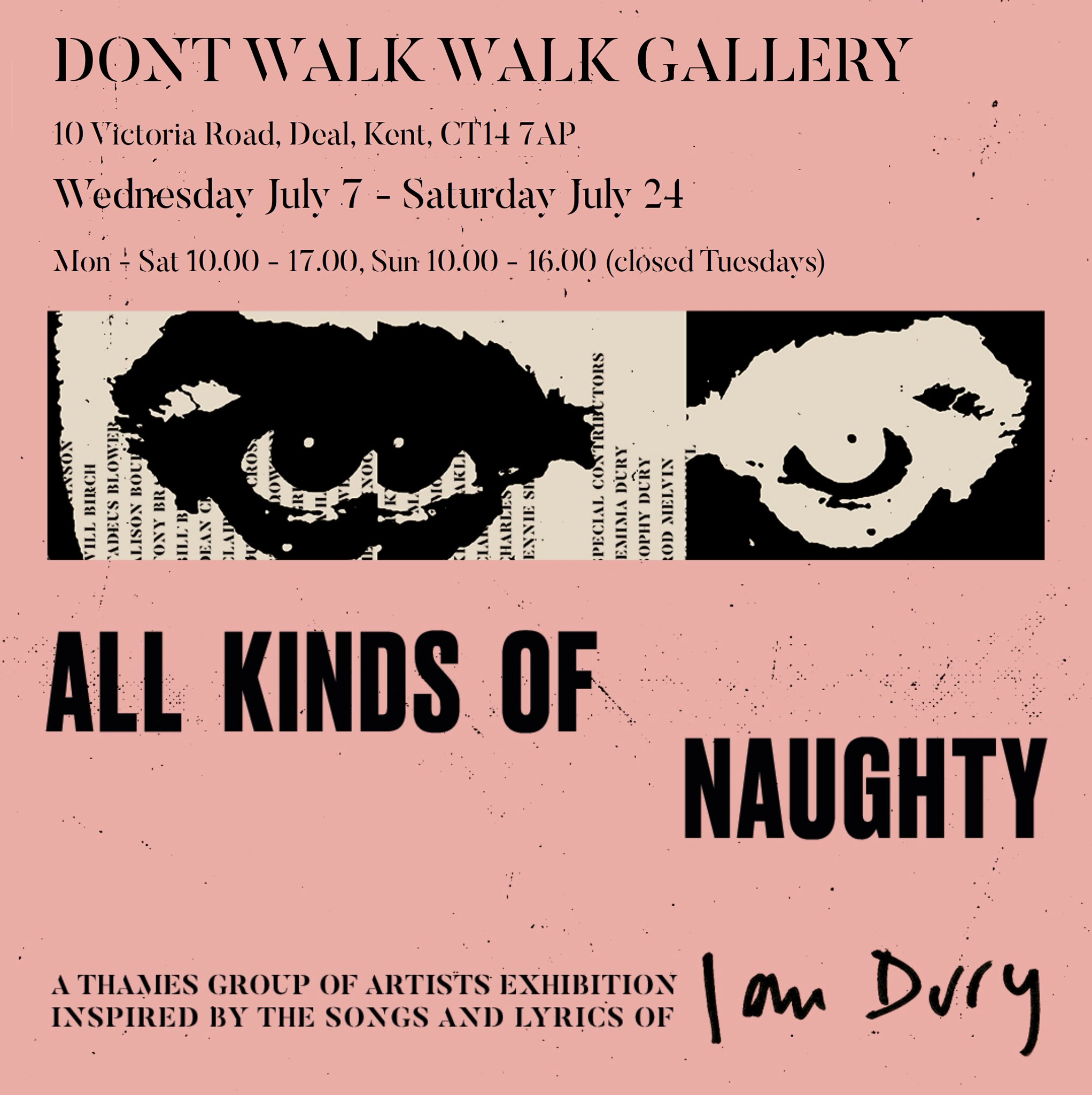 All Kinds Of Naughty: Don't Walk Walk