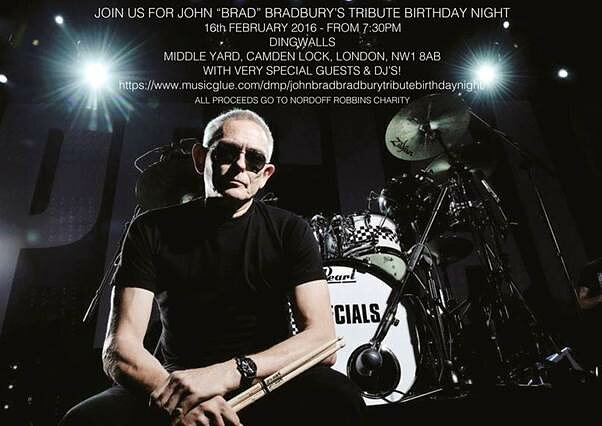 Brad Tribute Night: The Specials Drummer Celebrated