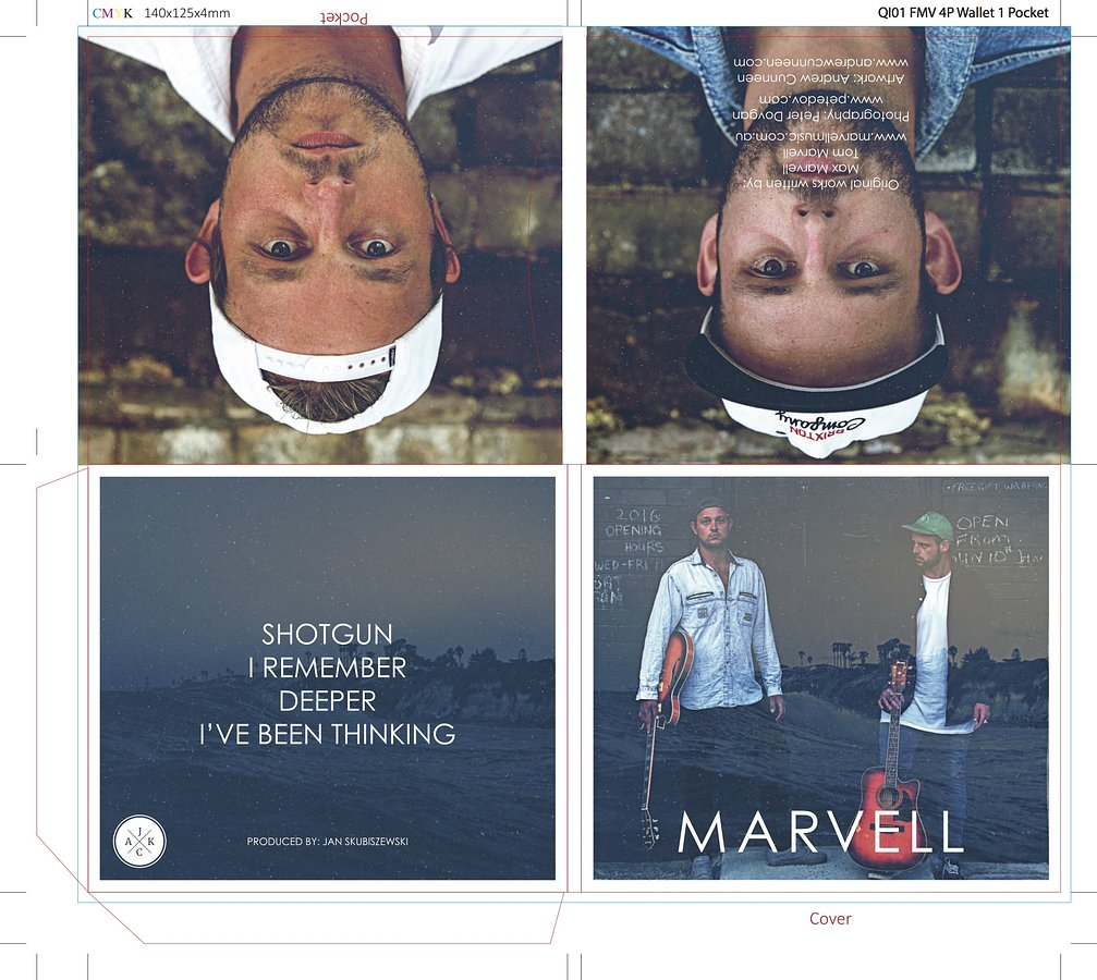 Marvell  cover and gatefold