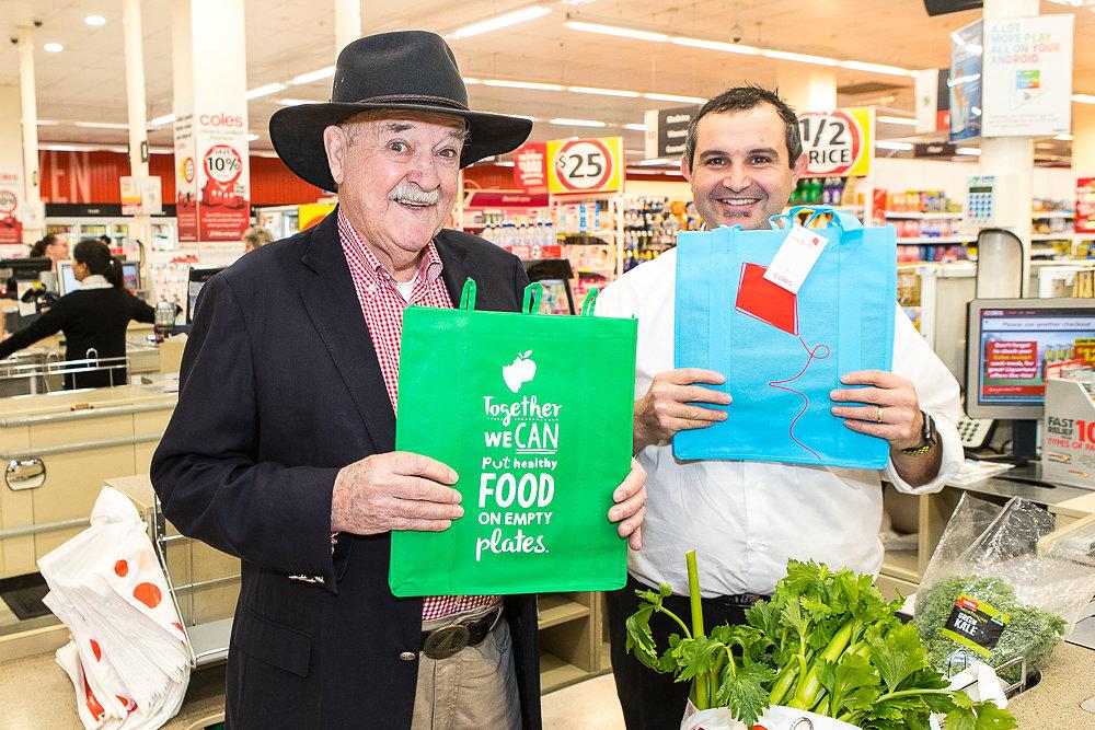 Ian Kiernan - Coles Supermarket