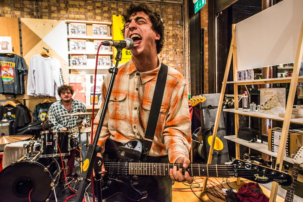 Twin Peaks at Urban Outfitters Spitalfields, London, October 2016