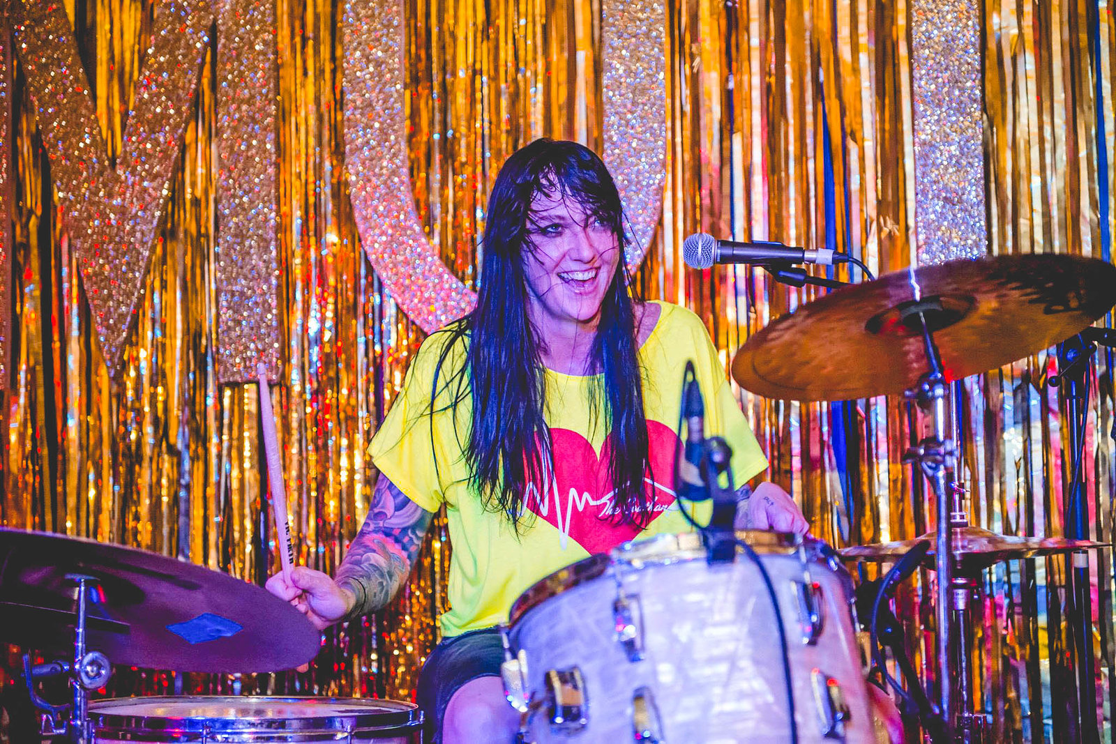 The Coathangers at Moth Club, May 2016