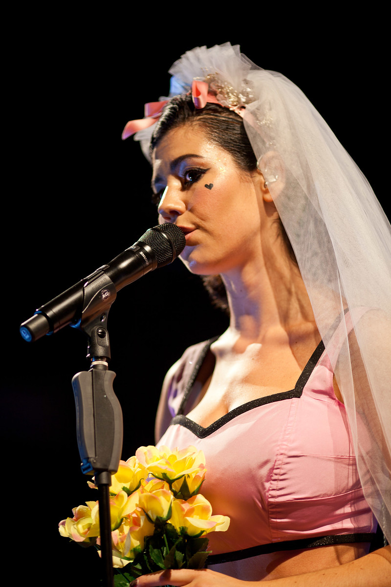 Marina and the Diamonds live at O2 Academy Liverpool