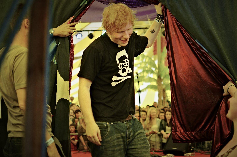 Ed Sheeran @ Croissant Neuf Festival