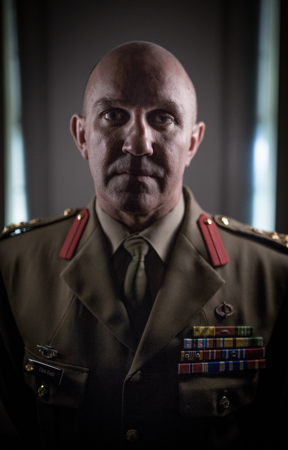 Brigadier Chris Field. Chief of Staff, Sydney Barracks.