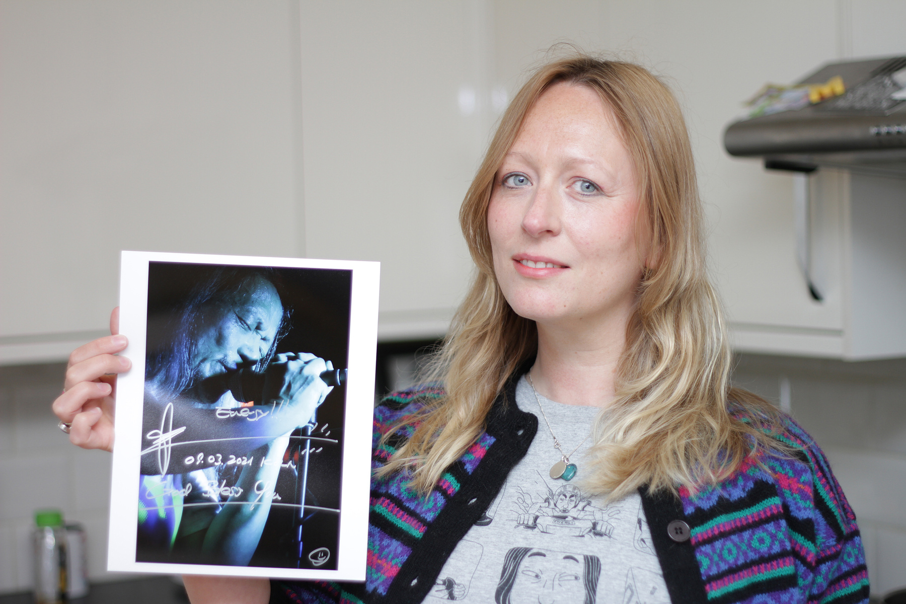 Director Michelle Heighway Announces Winners of Signed Photos by Damo Suzuki