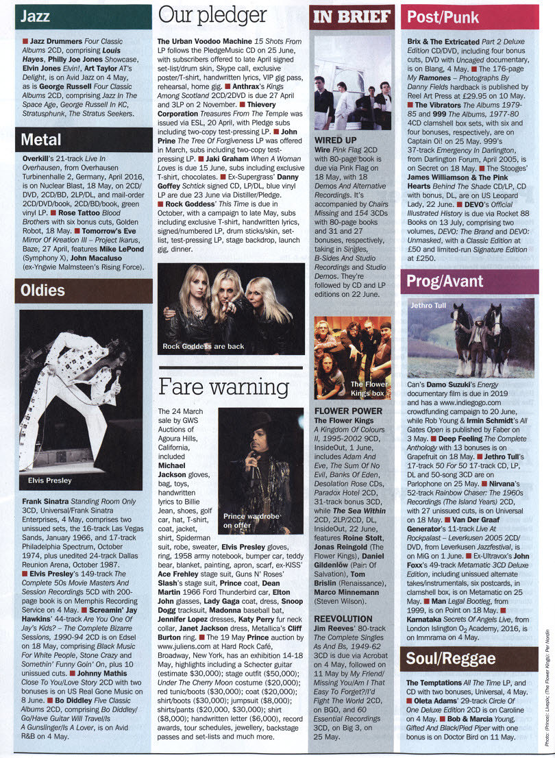 Energy - Record Collector Magazine - Press