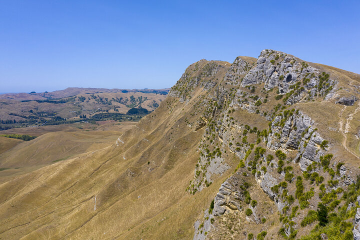 Te Mata Peak from Drone