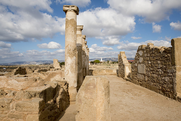 Archaeological Site Of Kato Pafos