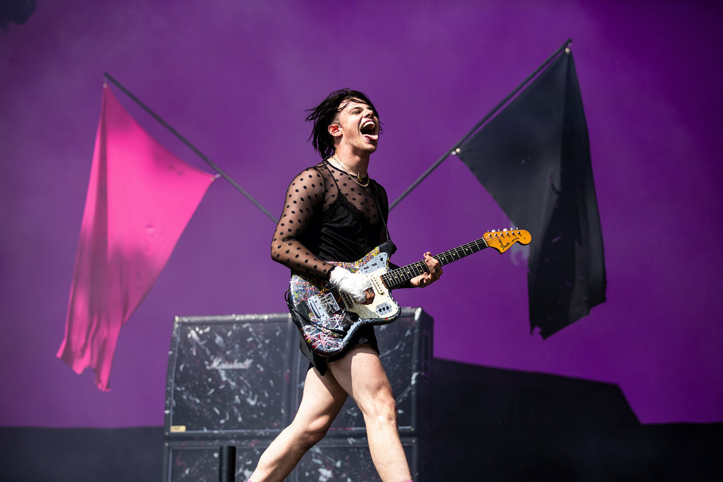 Yungblud in concert, Leeds Festival - 24 August 2019