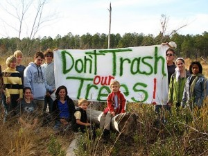 Don't Trash the Trees