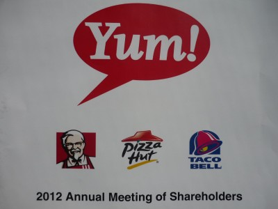 YUM AGM Report Cover