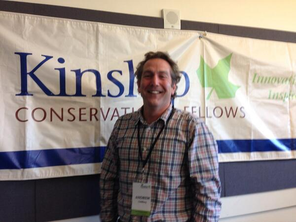Andrew Goldberg, excited to be a Kinship Fellow