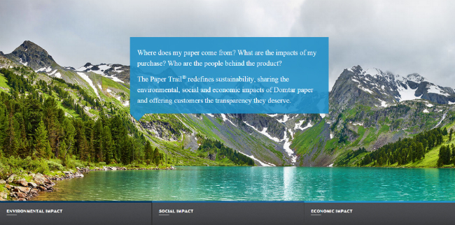 Domtar Paper Trail 650