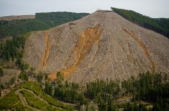 A clearcut in Washington State performed on forest lands certified by SFI. Photo Courtesy of Washington Forest Law Center