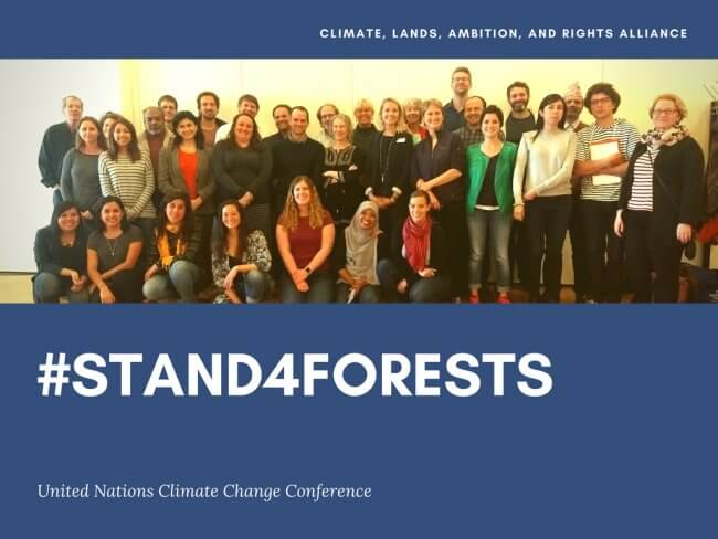 #Stand4Forests