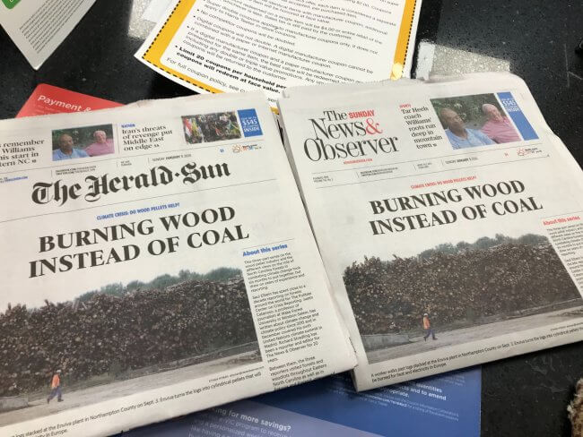 Raleigh News and Observer Articles