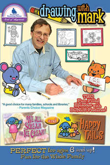 Drawing with Mark: Happy Tails