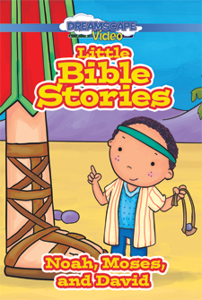 Little Bible Stories: Noah, Moses, and David