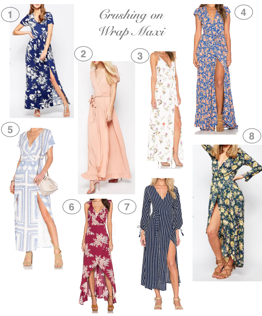 Dress Up Buttercup // A Houston-based fashion and inspiration blog developed to daily inspire your own personal style by Dede Raad | Crushing on Wrap Maxi Dresses