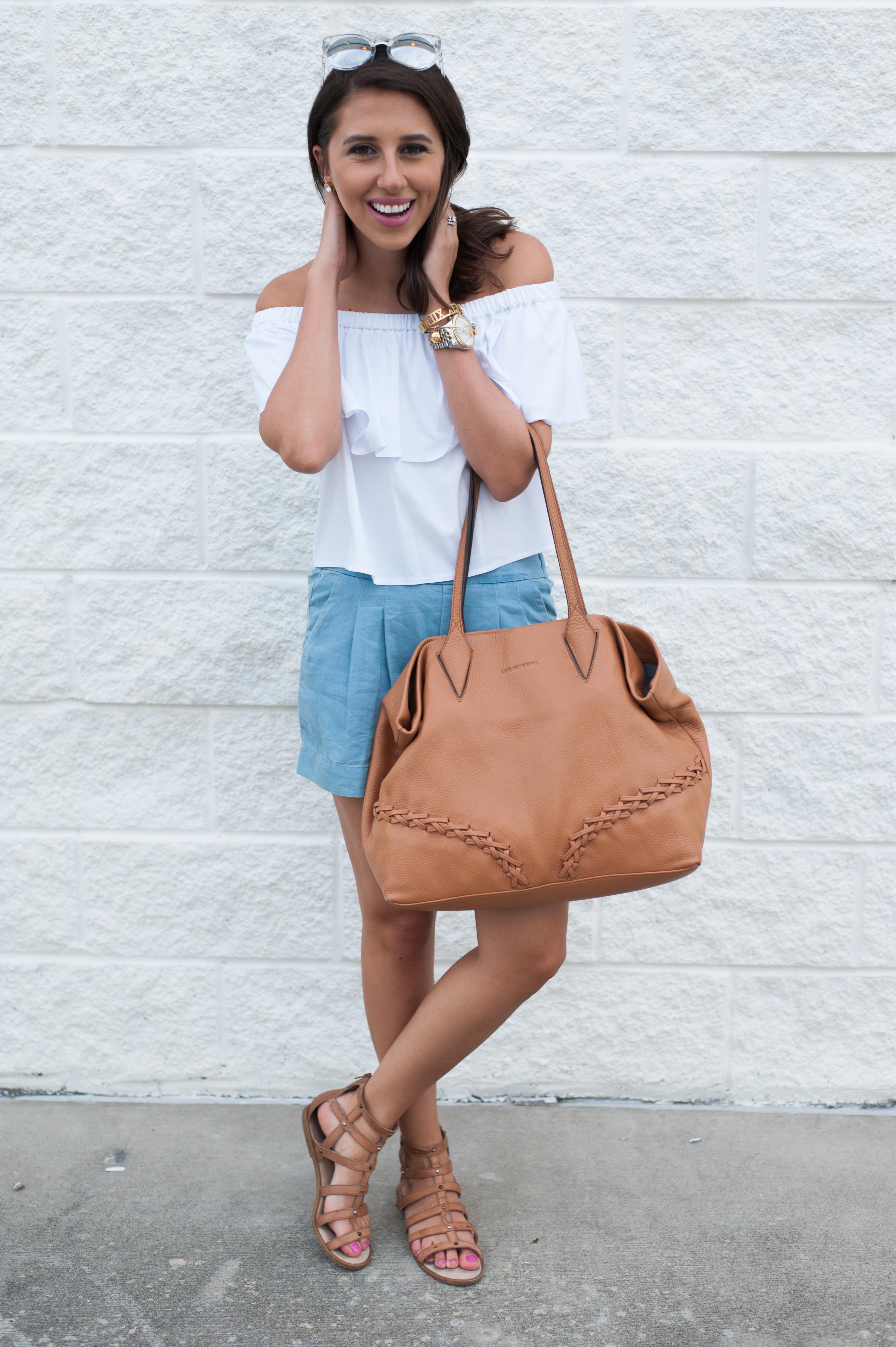 Dress Up Buttercup | Houston Fashion Blog - Dede Raad | Aimee Kestenberg Bag