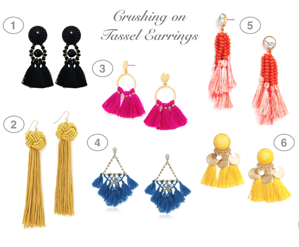 Dress Up Buttercup // A Houston-based fashion and inspiration blog developed to daily inspire your own personal style by Dede Raad | Crushing on Tassel Earrings