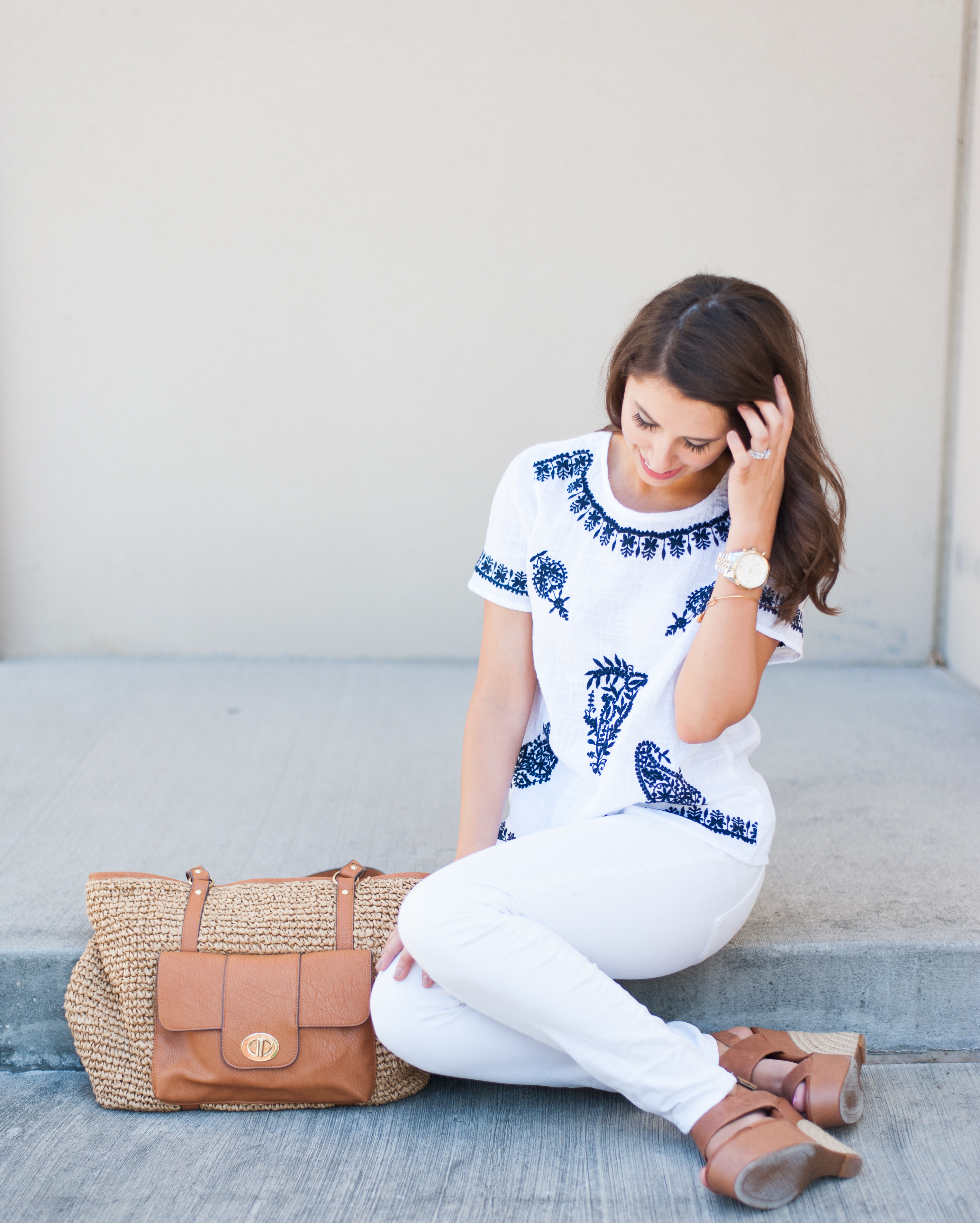 Dress Up Buttercup // A Houston-based fashion and inspiration blog developed to daily inspire your own personal style by Dede Raad | EMBROIDERED