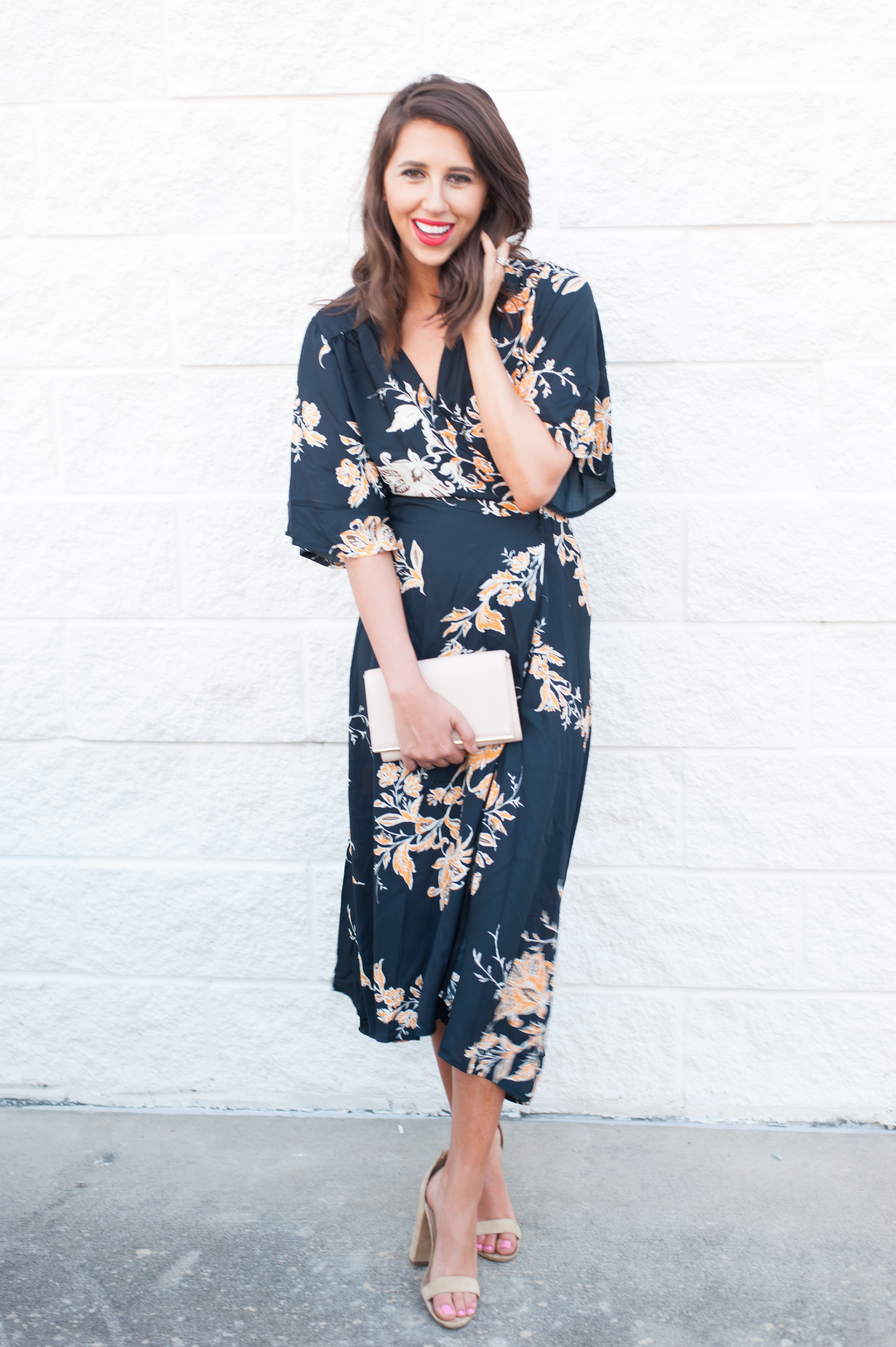 Dress Up Buttercup // A Houston-based fashion and inspiration blog developed to daily inspire your own personal style by Dede Raad | Wrap Floral Maxi