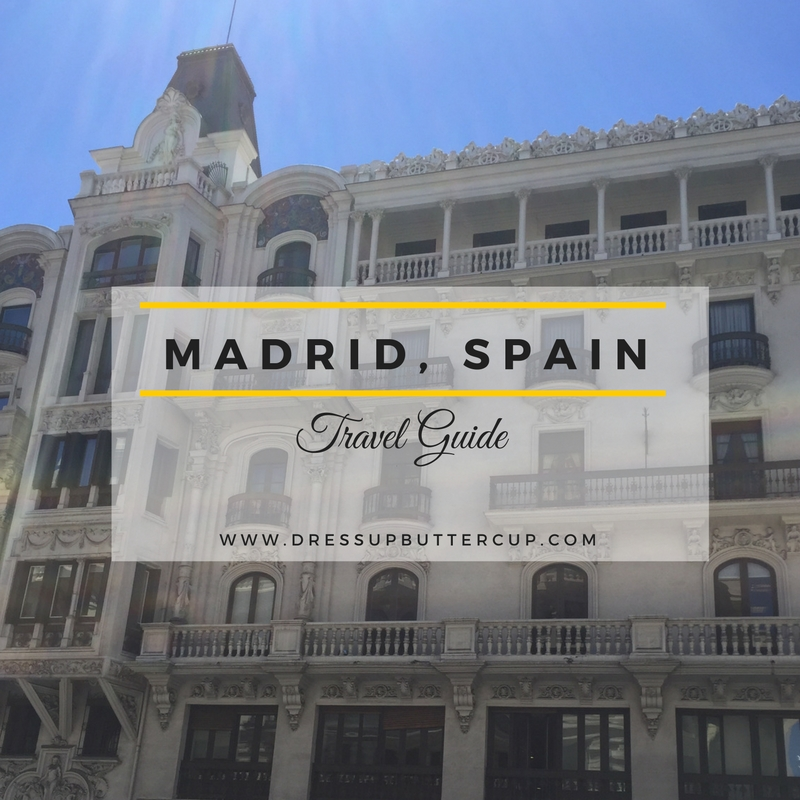 Dress Up Buttercup | Houston Fashion and Travel Blog - Dede Raad | Madrid, Spain Travel Diaries