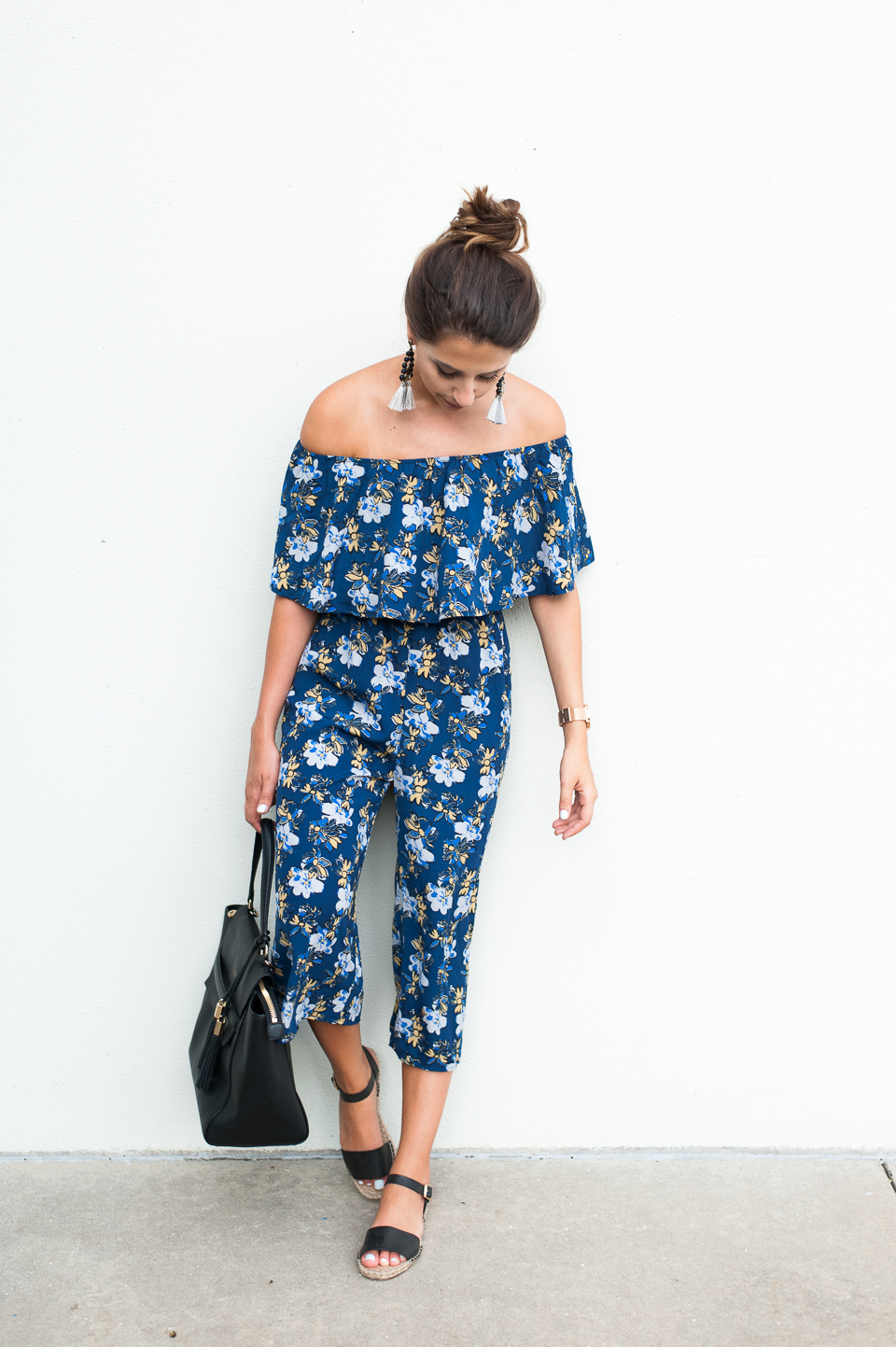 Dress Up Buttercup | Houston Fashion Blog - Dede Raad | Floral Jumper