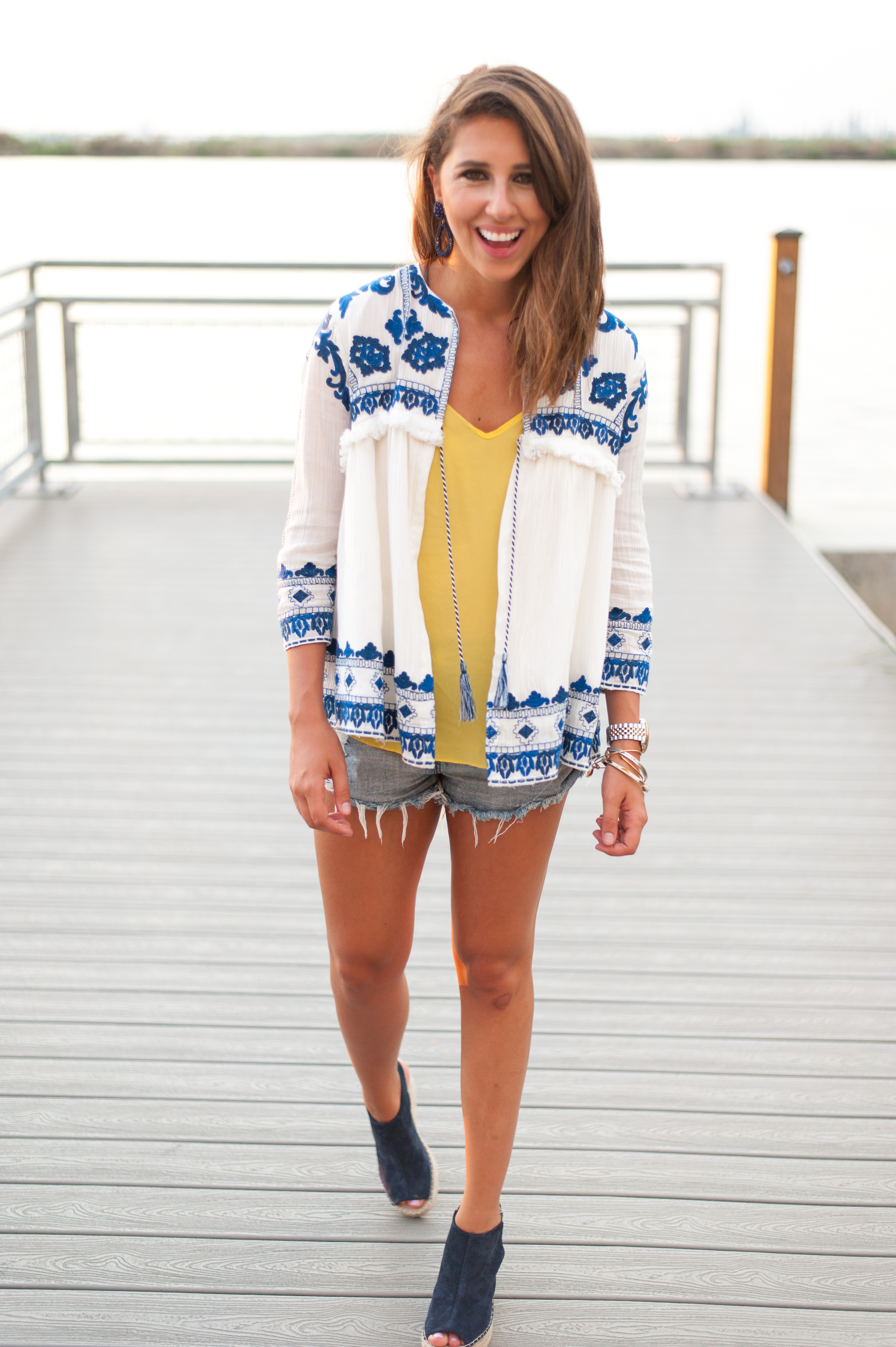 Dress Up Buttercup | Houston Fashion Blog - Dede Raad | Boho Blue & Yellow