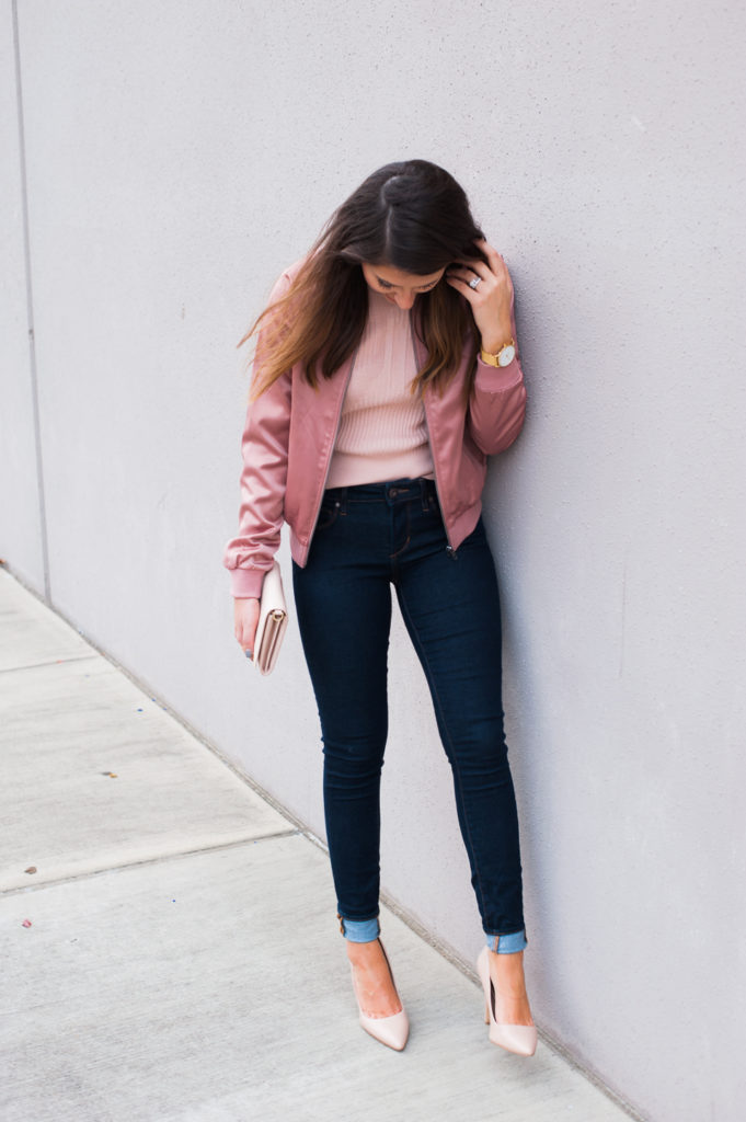 Dress Up Buttercup // A Houston-based fashion travel blog developed to daily inspire your own personal style by Dede Raad | Pink on Pink Bomber