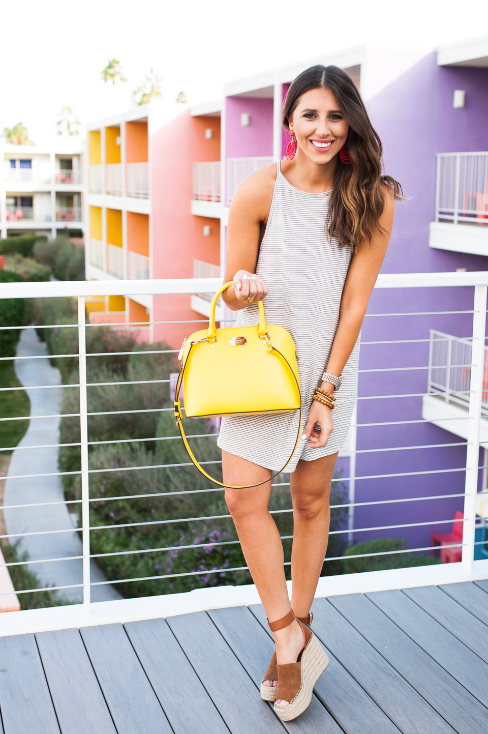 Dress Up Buttercup // A Houston-based fashion travel blog developed to daily inspire your own personal style by Dede Raad | Tee Dress